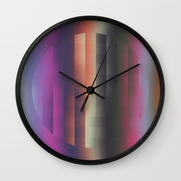 Pixel circle Wall Clock