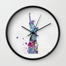 Statue of Liberty - New York Wall Clock