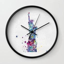 Statue of Liberty - New York Wall Clock
