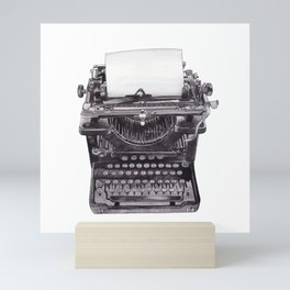 Vintage Remington Standard Typewriter Mini Art Print