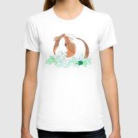 guinea pig T-shirts featuring Guinea Pig Clover by Elena O'Neill