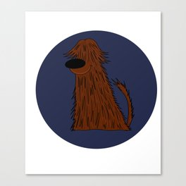 Bearded Collie Dog Doggie Puppy gift present Canvas Print