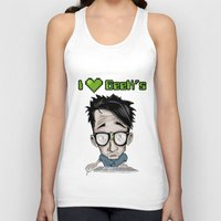 geek Tank Tops featuring Geek by Aguamala