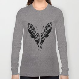 Stylized butterfly Long Sleeve T-shirt