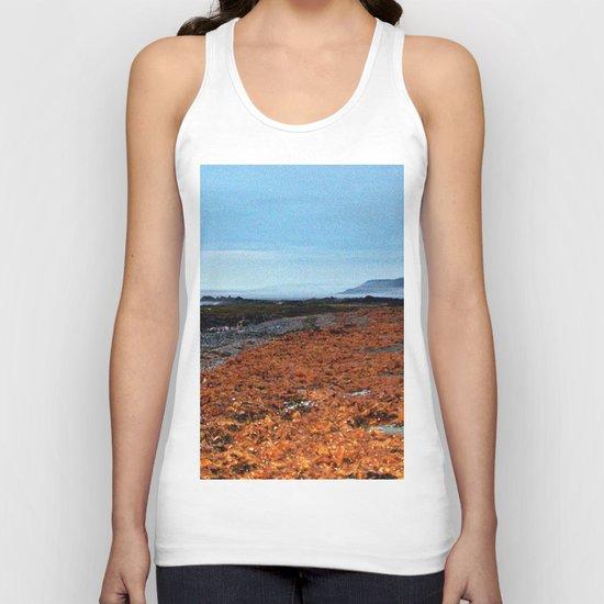 Seaweed Beach Unisex Tank Top