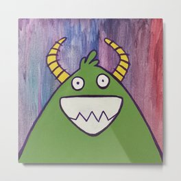 Monsters: Jimmy Metal Print