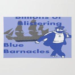 Blue Barnacles Rug