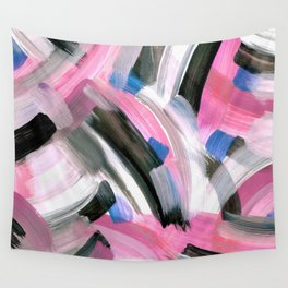 Crossing Pink Wall Tapestry