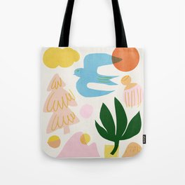 Abstraction_Nature_Beautiful_Day Tote Bag