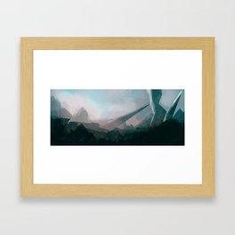 New discoveries Framed Art Print