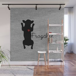 Frogchie French Bulldog Wall Mural