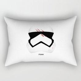 Finn-Stormtrooper Helmet Rectangular Pillow