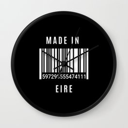 Made In Eire Wall Clock