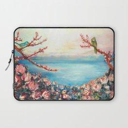 Magnolias - Geneva-Leman lake swiss Laptop Sleeve