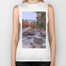 mountain stream Biker Tank