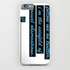 Follow me on Twitter Slim Case iPhone 6s