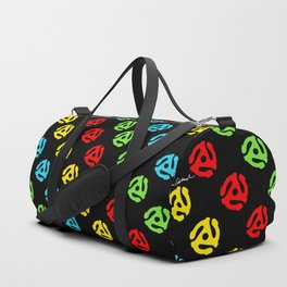 45 Spindle All Over Print Duffle Bag