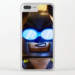 Beach Bat Clear iPhone Case