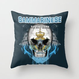 To The Core Collection: San Marino Throw Pillow