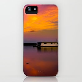 Home on the Bay iPhone Case