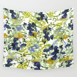 abstract floral pattern Wall Tapestry