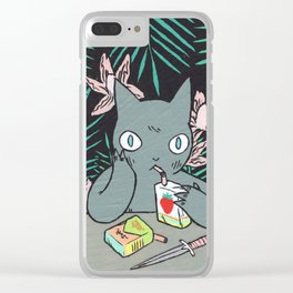Juice Box Clear iPhone Case