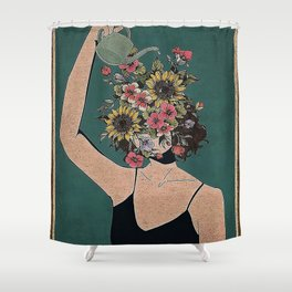 Be Kind To Your Mind  Shower Curtain