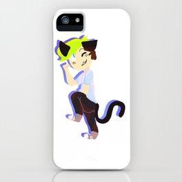 Neko Sean iPhone Case