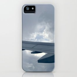 Eye of the storm iPhone Case