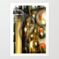 alchemy Art Prints featuring Alchemy by John Hansen