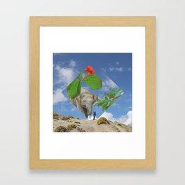 Elephas canadensis Framed Art Print