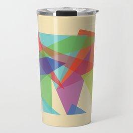 Fractal Geometric bear Travel Mug