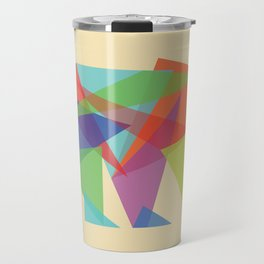 Fractal Geometric bear Travel Mug