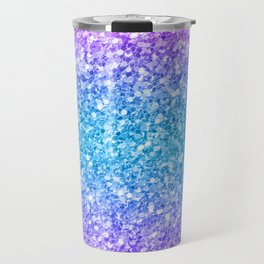 Colorful glam glitter and sparkles Travel Mug