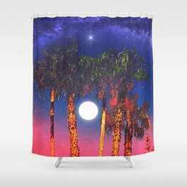 5-14-15_Power of Now. Shower Curtain