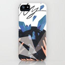 iolite blue iPhone Case