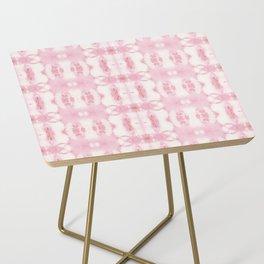 Tie Dye Roses Side Table