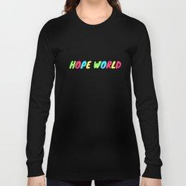 BTS J-HOPE HOPE WORLD Long Sleeve T-shirt