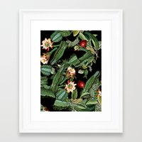 botanical Framed Art Prints featuring BOTANICAL  by sametsevincer