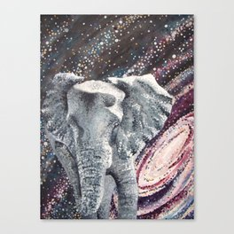 Trunk Space Canvas Print