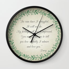 Ardently Wall Clock