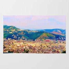 Italian Cityscape Rug