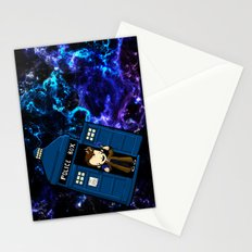 Tardis in space Doctor Who 10 Stationery Cards