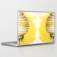 lantern Laptop & iPad Skins featuring Lantern by Emma Stein