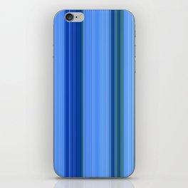 Blue Mishap iPhone Skin