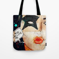Kiss/Paul Stanley/Starchild/C'mon and Love Me Tote Bag