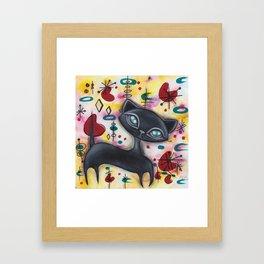 Dorothy Cat Framed Art Print