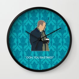 The Empty Hearse - Greg Lestrade Wall Clock