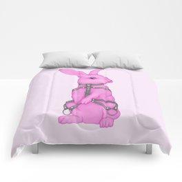 Pink Rabbit Comforters
