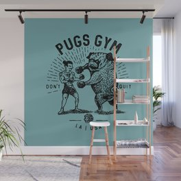 DON'T QUIT Wall Mural